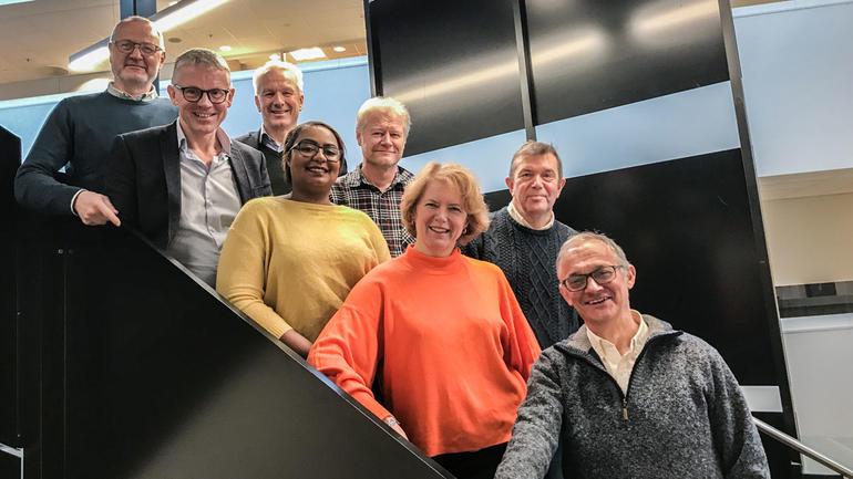 SESAM advisory board - gruppebilde