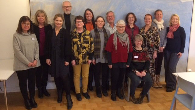 Deltakere på kollokvium i Lund