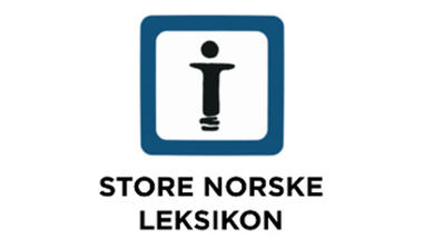Store norske leksikon. Logo