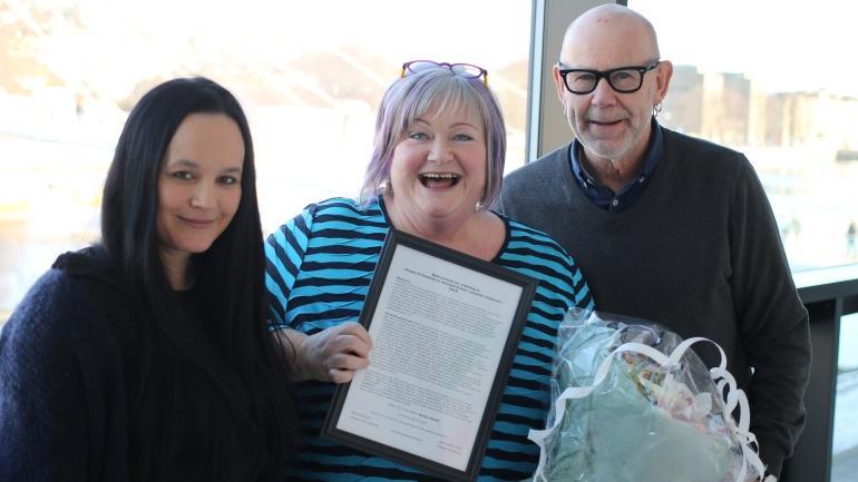 Victoria Ibabao Edwards, Merete Nesset og Bengt Karlsson. Foto