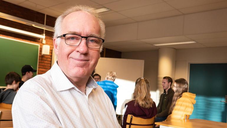Hans-Olav Oldrup Johnsen er fagansvarlig for IKT i læring. Foto