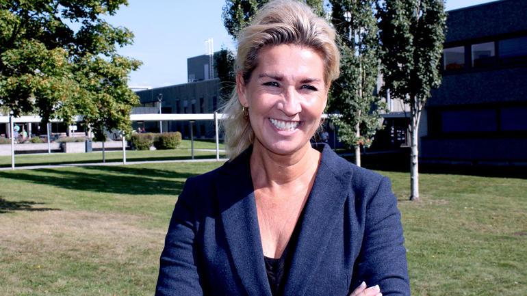 Benja Stig Fagerland underviser i økonomi og ledelse og organisasjon på USN. Foto
