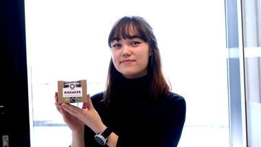 Karina Lillestrøm har jobbet med emballasjedesign.