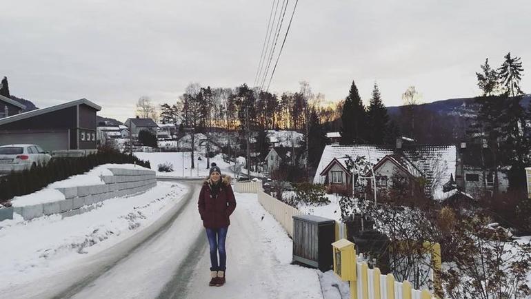 Nikolina utvekslingsstudent i Norge
