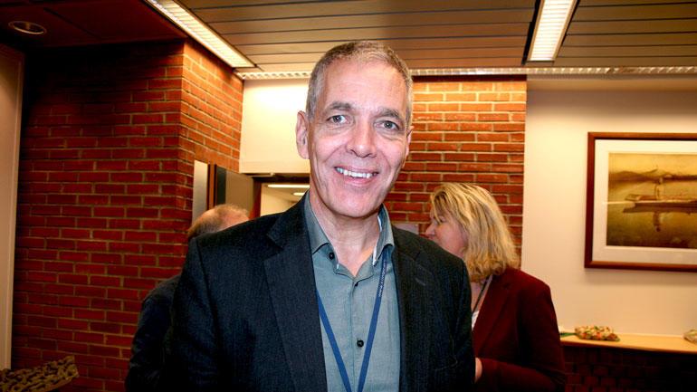 SKAL LEDE STYRET: Kunnskapsdepartementet har oppnevnt Sverre Gotaas til å være styreleder ved Universitetet i Sørøst-Norge i neste periode. (Foto: An-Magritt Larsen)