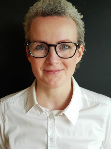 Stine Kühle-Hansen - portrettbilde (Foto: Adele Hasle Kühle-Hansen)