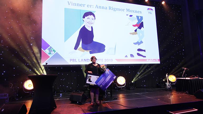 Anna Moxnes vant PBL-prisen 2019