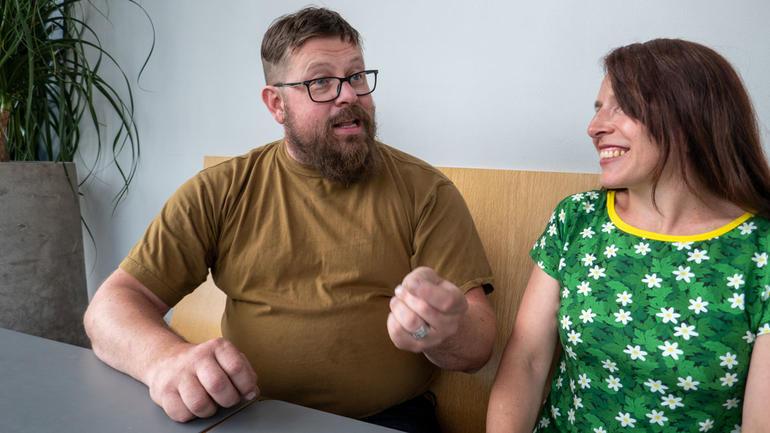 Jostein Hassel og Hege Bjørneseth har et stort engasjement for beredskapsarbeid og forebygging. Foto av dem.