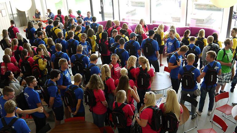 Buddy week campus Porsgrunn. Photo.