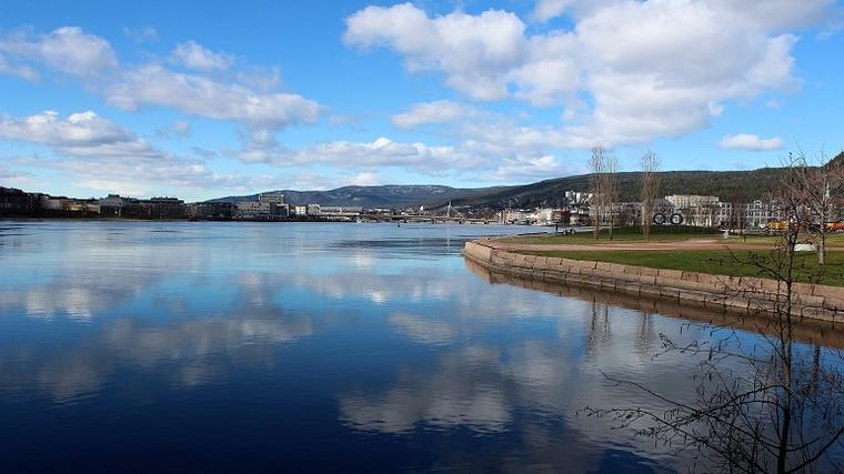 Norwegian cultural landscape: the city of Drammen