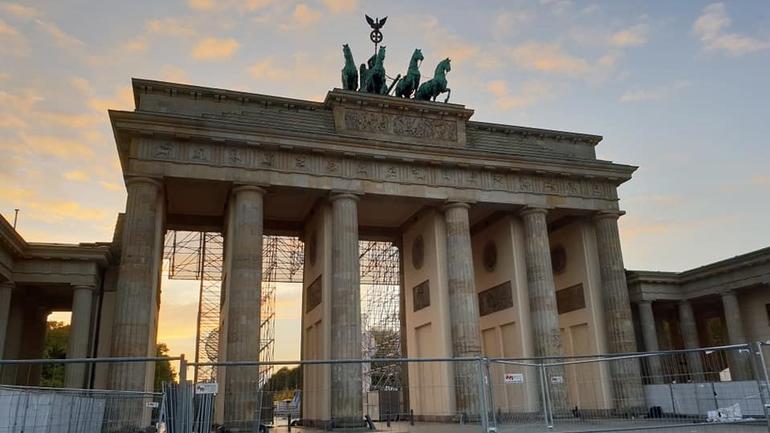 Utsikt Berlin- Jan Helge på utveksling