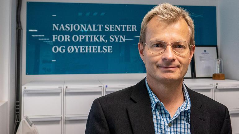 Førsteamanuensis Per Lundmark. Foto