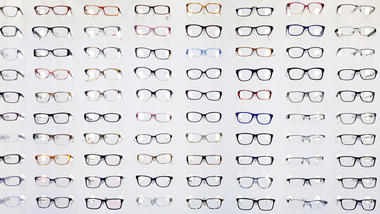 illutrasjonsfoto av briller.