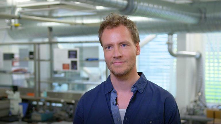 Doktorgradstudent Kenneth Kirkeng. Foto.