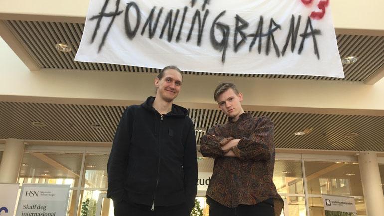 Trym Grydeland og Magnus Annweiler var to av dem som var så heldige å få bli med i Slottsfjells Supercrew i fjor sommer.