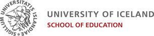 Logo Universitetet i Island