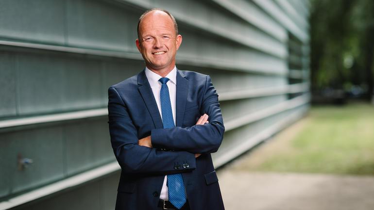 NHO-sjef Ole Erik Almlid - foto