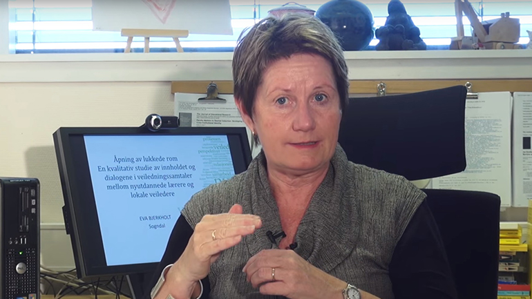 Eva Bjerkholt. foto.