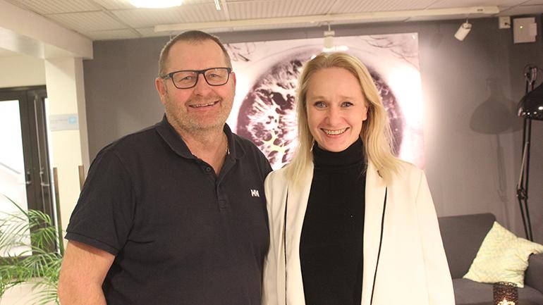 Petter Thoresen og Maria Mediass Jørstad. foto.