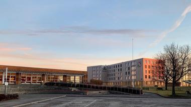 Studentboliger på campus Vestfold. foto.