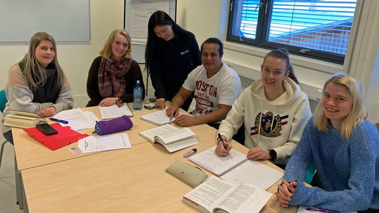 Studenter på SI-PASS