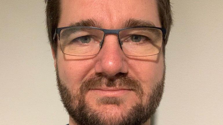 Portrett av disputant Svein Arne Jervell Hansen