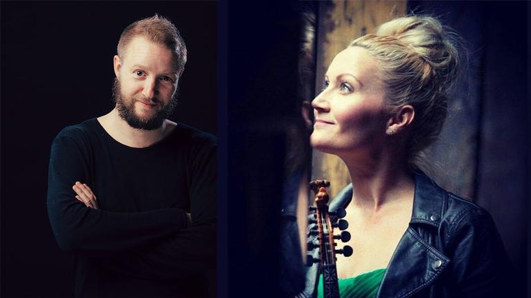 Sigurd Heide og Sigrid Moldestad. Foto