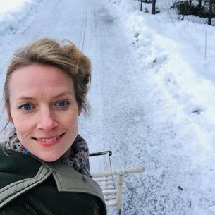 Anne Gry Gudmundsdotter, programkoordinator for bachelor i internasjonal markedsføring og reiseliv. Foto