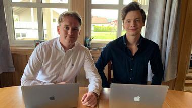 Bilde av Henrik Schjerven og Ole-Henrik Jahre fikk både førsteprisfor