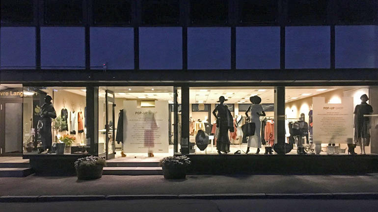 Popup-butikk i Tønsberg - foto