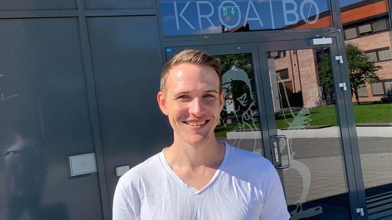 Lars Stian, leder for hovedstryet på Kroa i Bø