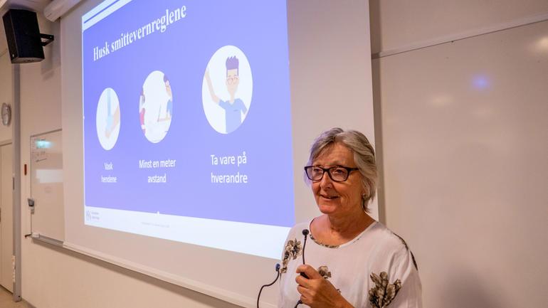 Programkoordinator Siv Venke Gran - foto
