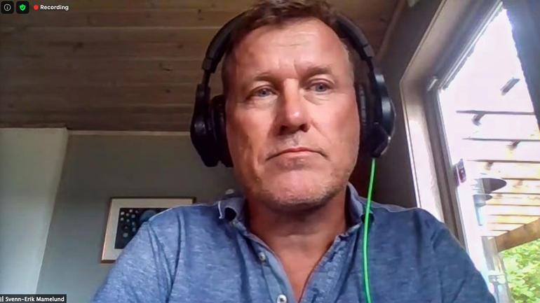 Svenn-Erik Mamelund - skjermdump