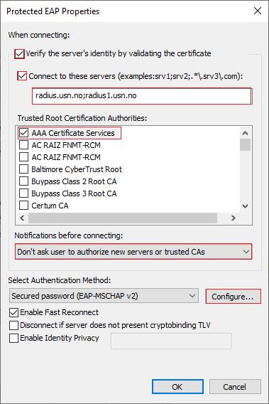 Windows trådløsnt nett