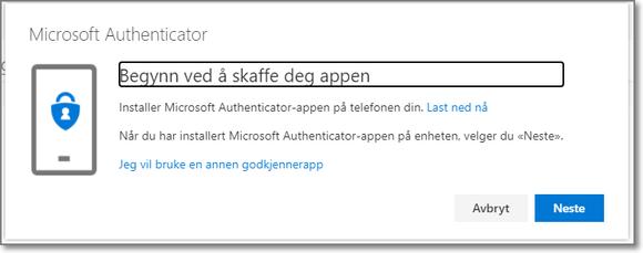 MFA - Info om Microsoft Authenticator appen