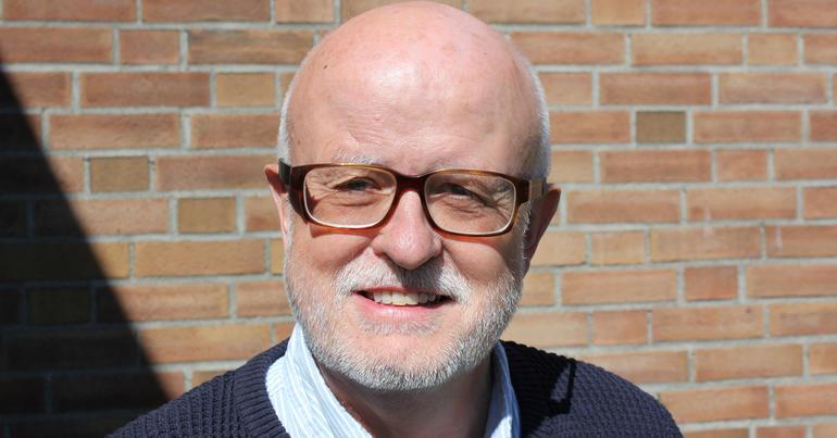 Professor Ketil Eide, USN.  Photo