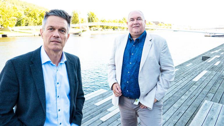 Ole Boe og Glenn-Egil Torgersen - foto