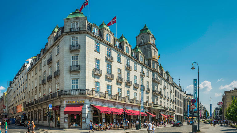 Bilde av Grand Hotel Oslo, Istock-fotoVoyager