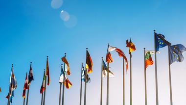 EU flagg: Illustrasjon: Colourbox