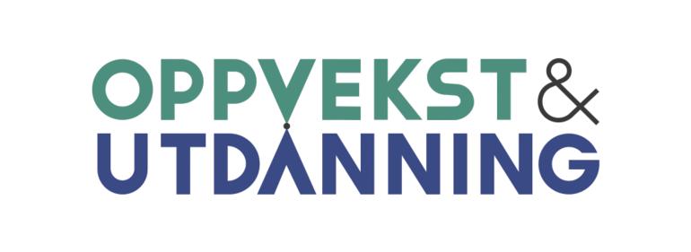 oppvekst og utdanning logo