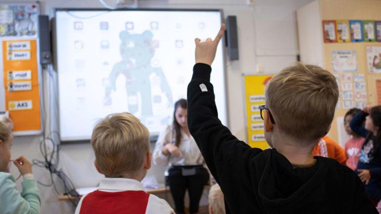 Bilde fra klasserommet