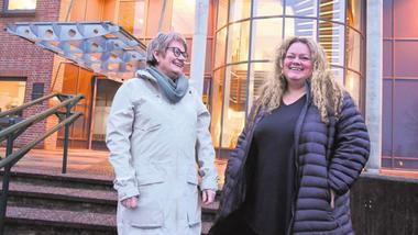 Eva Bjerkholt og Tonje Harbek Brokke