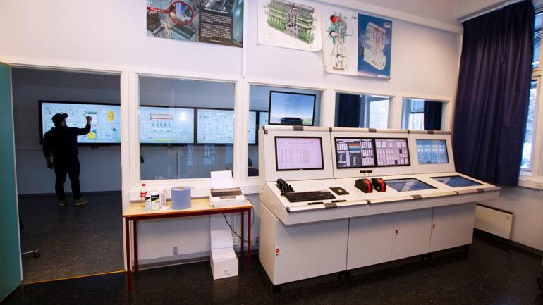 Simulatorrommet ved campus Vestfold.