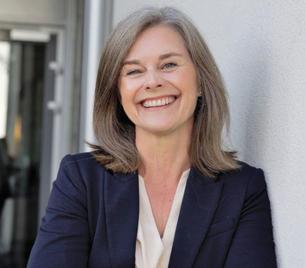 Gro Merethe Rørvig er prosjektleder for «Flere unge i fast arbeid» i Vestfold og Telemark fylkeskommune. Foto