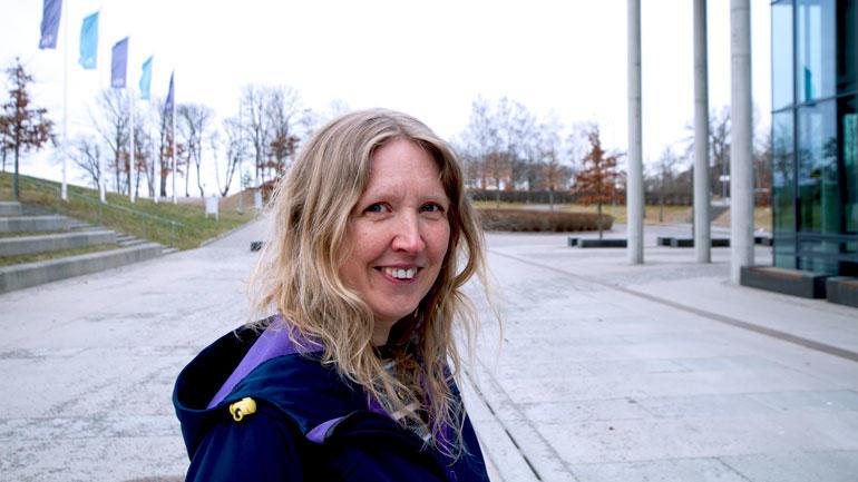 Portrett av Karina Bakkeløkken Hjelmervik