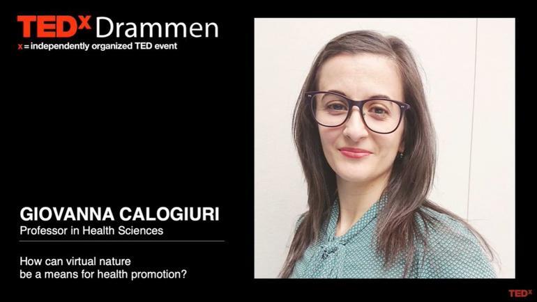 Giovanna Calogiuri in TedX video