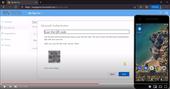 Skjermkutt av MFA guide på YouTube