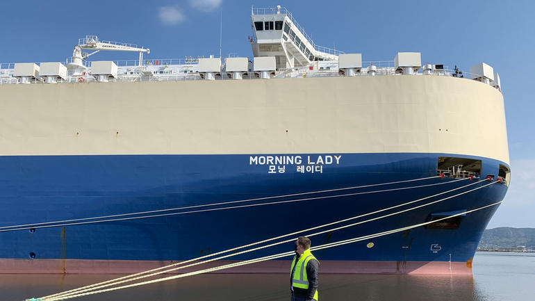Morning Lady Containerskip