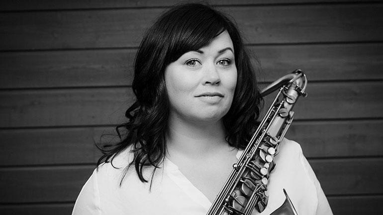 Saksofonist Frøydis Grorud