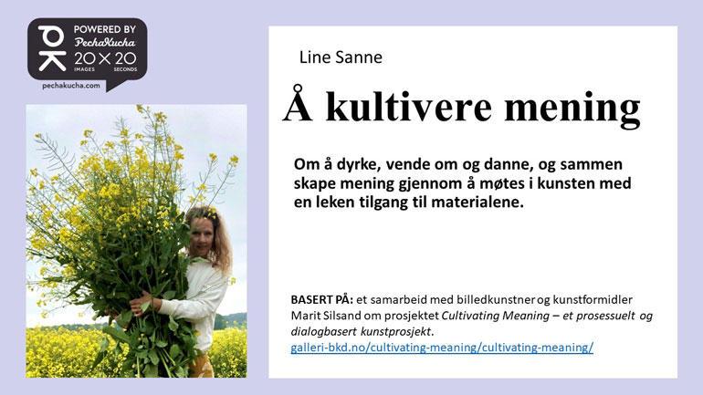 Line Sanne. Foio